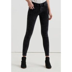 🍀NWT Lucky Brand Ava Skinny Velvet Jeans
